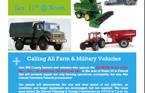 Calling All Farm and Military Vehicles