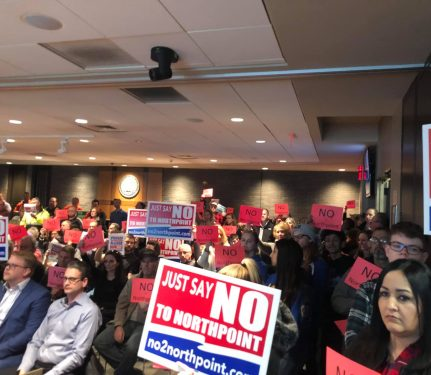JHN: NorthPoint opponents cry foul on Joliet hearing