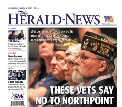 Veterans say NO to Joliet